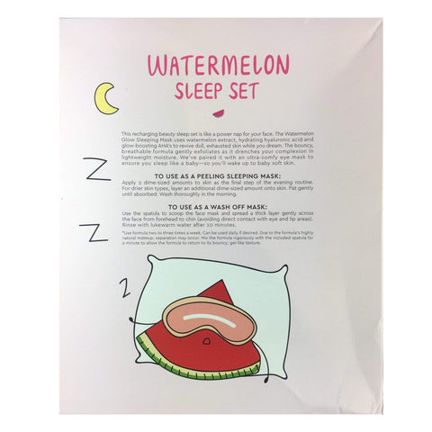Glow Recipe Face Masks GLOW RECIPE Watermelon Sleep Set - Limited Edition