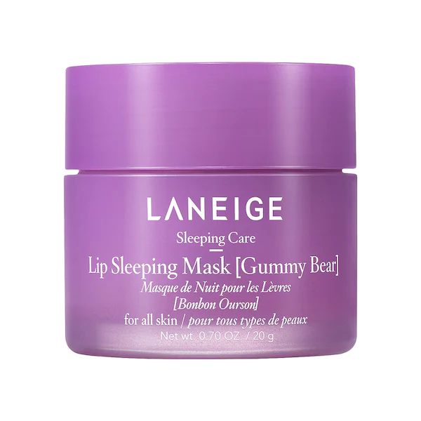 LANEIGE Lip Sleeping Mask - Gummy Bear 0.7 oz | 20 g, lip mask, London Loves Beauty