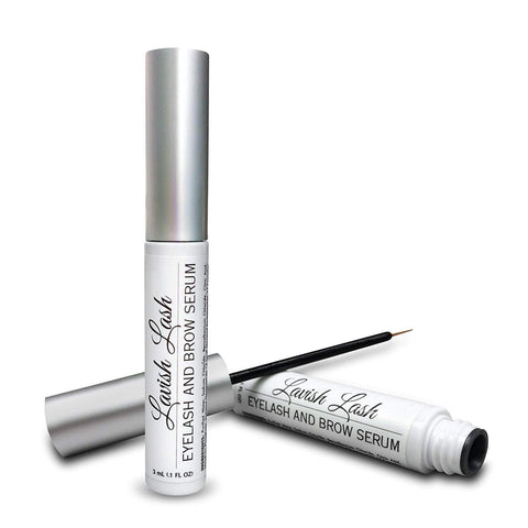 HAIRGENICS Lavish Lash – Eyelash Growth Enhancer & Brow Serum 3mL, lashes, London Loves Beauty