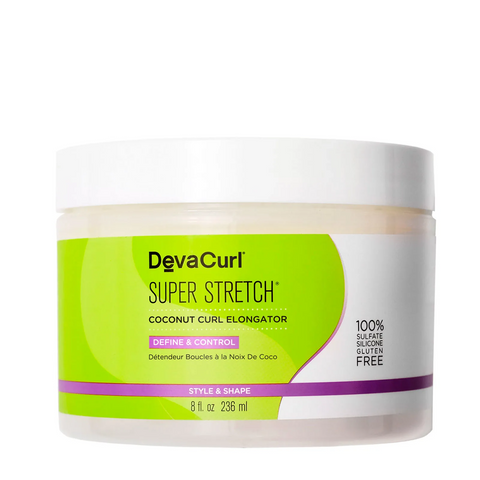 DEVACURL Super Stretch™ Coconut Curl Elongator 8oz, Hair Care, London Loves Beauty