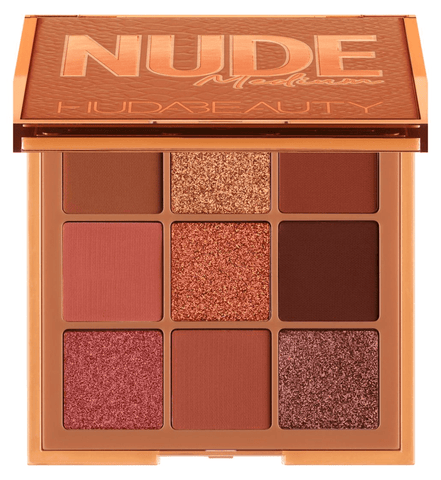 HUDA BEAUTY Nude Obsessions Eyeshadow Palette - Nude Medium, eyeshadow palette, London Loves Beauty
