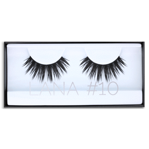 HUDA BEAUTY Classic Lash Lana #10, False eyelashes, London Loves Beauty