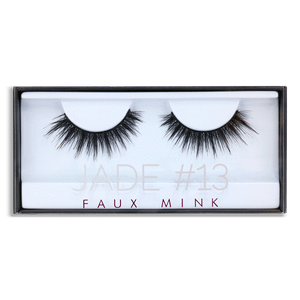 HUDA BEAUTY Faux Mink Lash Jade #13, False eyelashes, London Loves Beauty