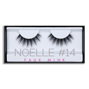 HUDA BEAUTY Faux Mink Lash Noelle #14, False eyelashes, London Loves Beauty