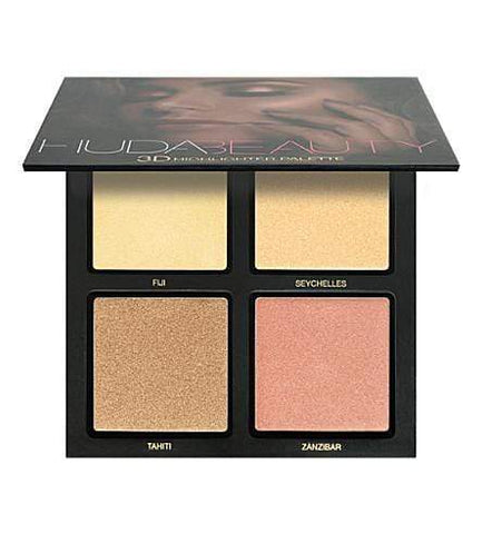 HUDA BEAUTY Golden Sands 3D Highlighter Palette, highlighter, London Loves Beauty
