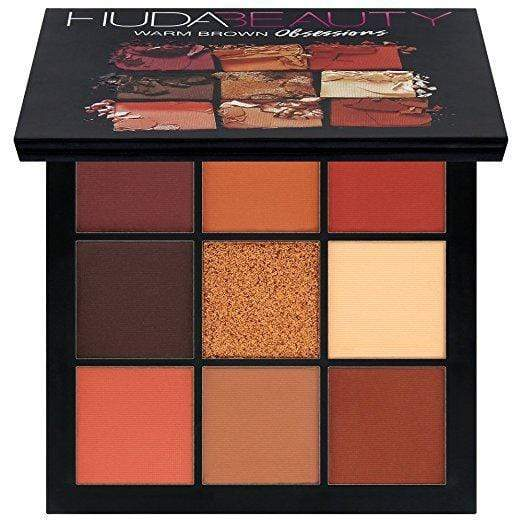 Huda Beauty Obsessions Eyeshadow Palette: Warm Brown, Makeup, London Loves Beauty