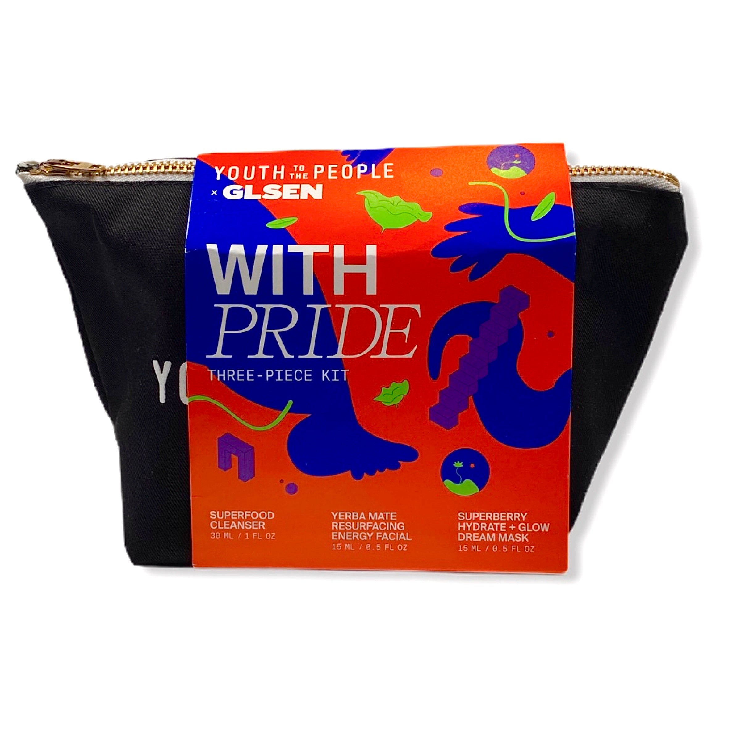 Youth To The People With Pride Minis Kit, Skin Care, London Loves Beauty