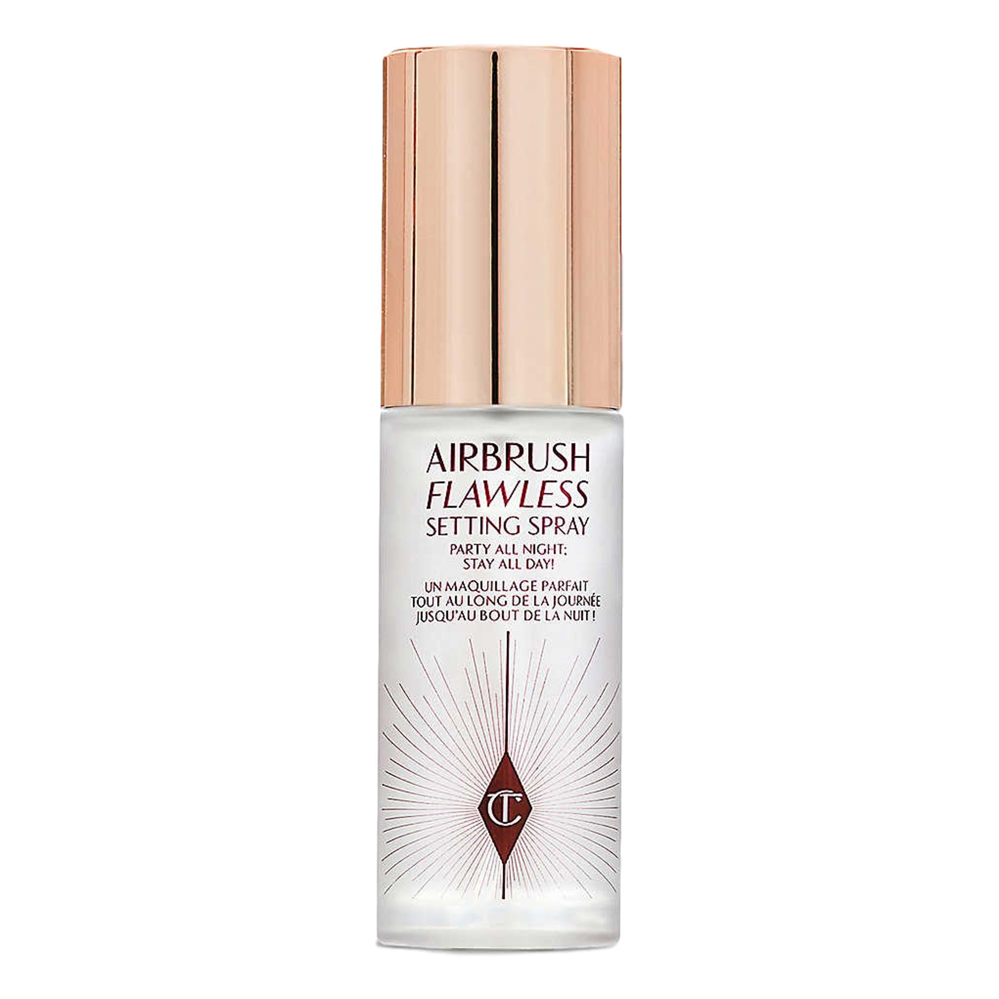 Airbrush Flawless travel setting spray, 34ml, Setting Spray, London Loves Beauty