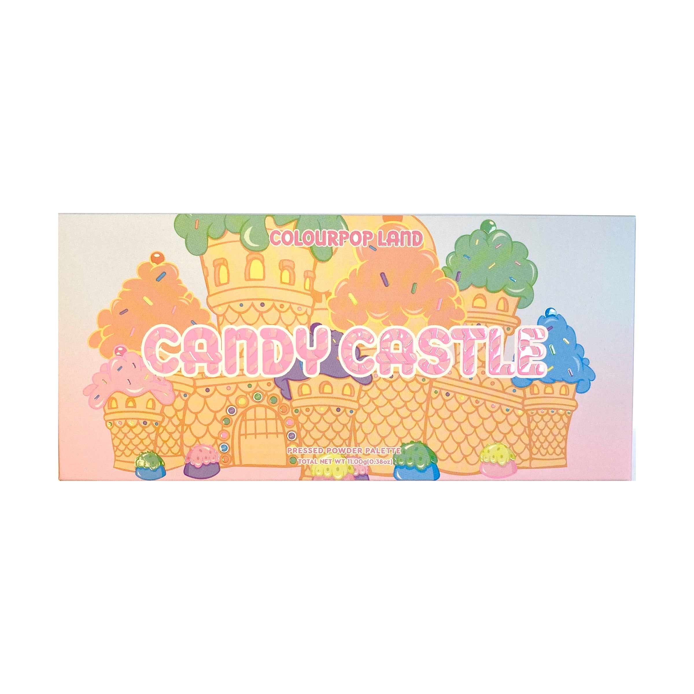 COLOURPOP Candy Castle Pressed Powder Eyeshadow Palette, eyeshadow palette, London Loves Beauty