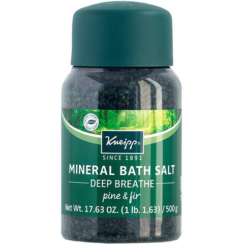 KNEIPP Deep Breathe Pine & Fir Mineral Bath Salt Soak, 17.63oz