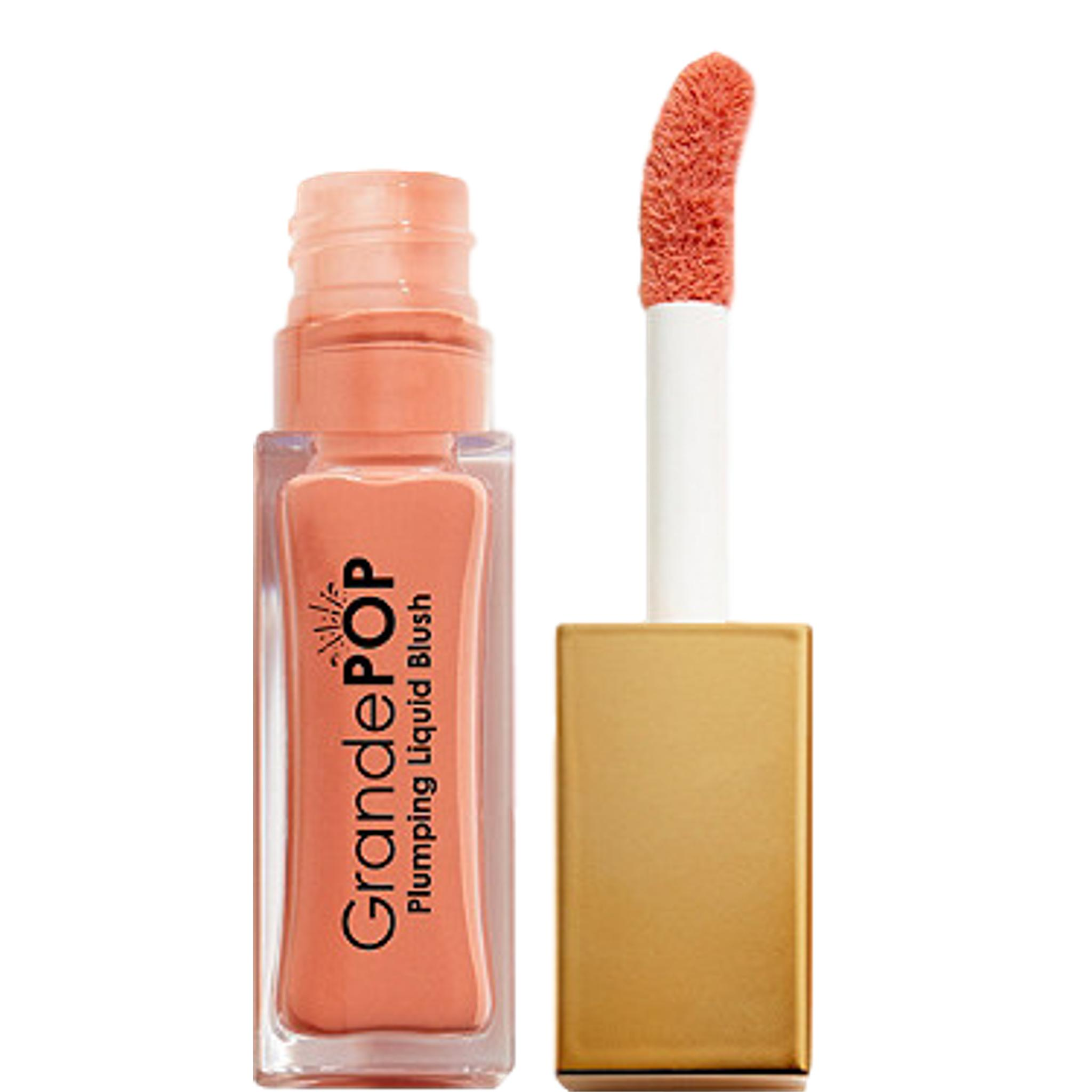 GrandePOP Plumping Liquid Blush - Sweet Peach, liquid blush, London Loves Beauty