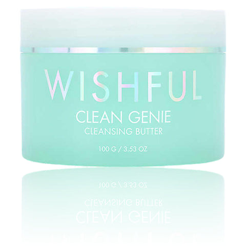 Wishful Clean Genie Cleansing Butter, 100g, cleanser, London Loves Beauty