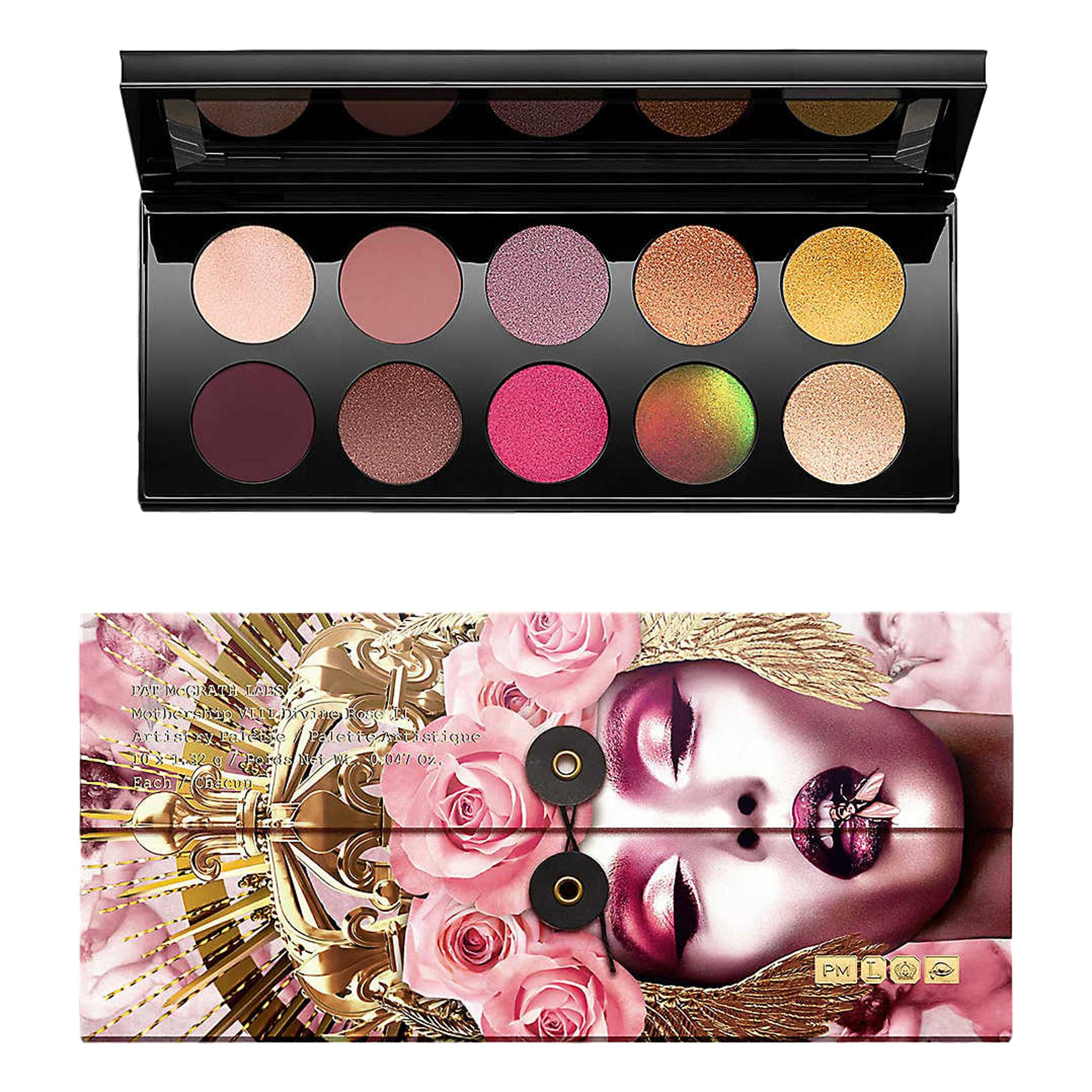 PAT MCGRATH LABS Mothership VIII: Divine Rose II Artistry Palette, 13.2g, eyeshadow palette, London Loves Beauty