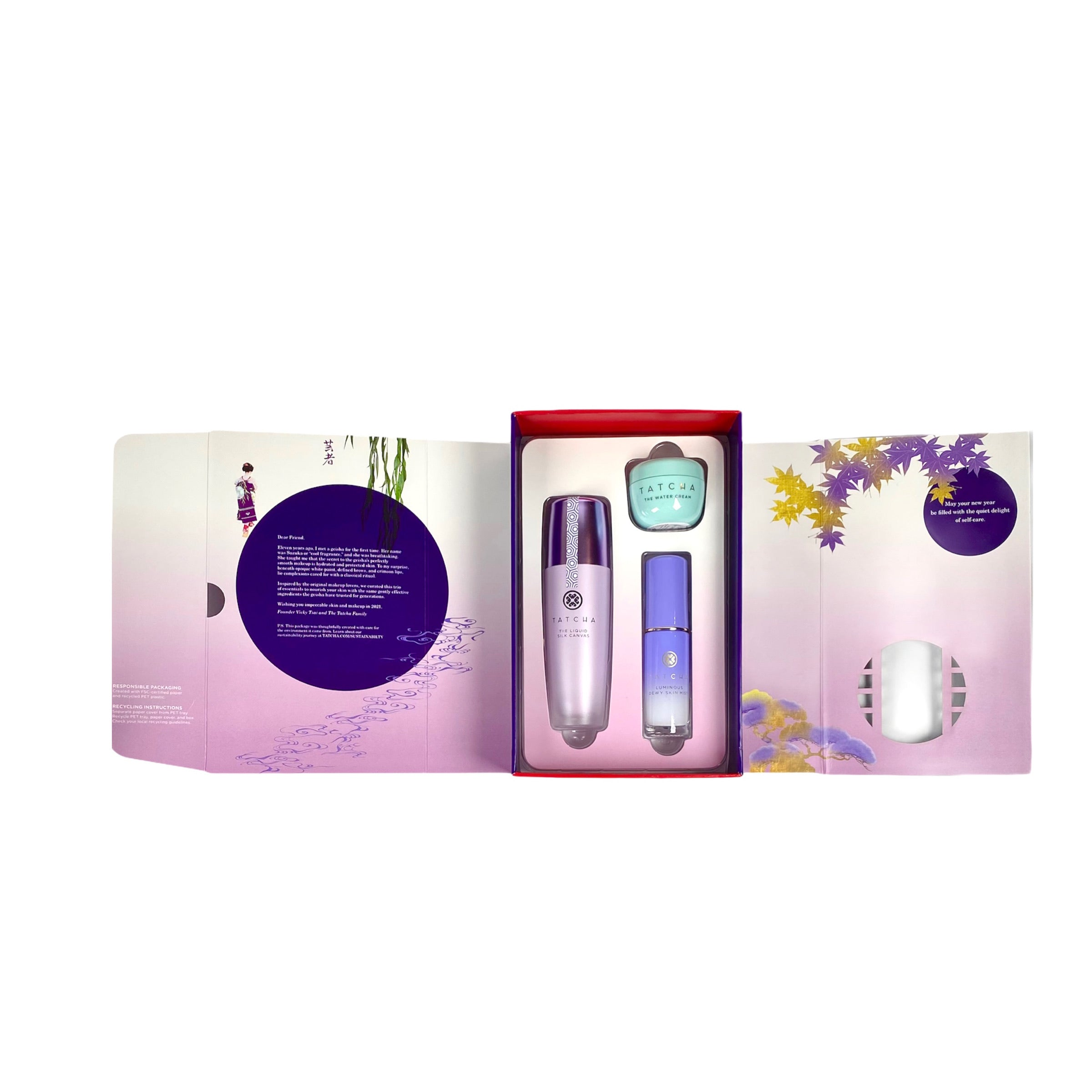 TATCHA Skin & Makeup Essentials - Limited Edition