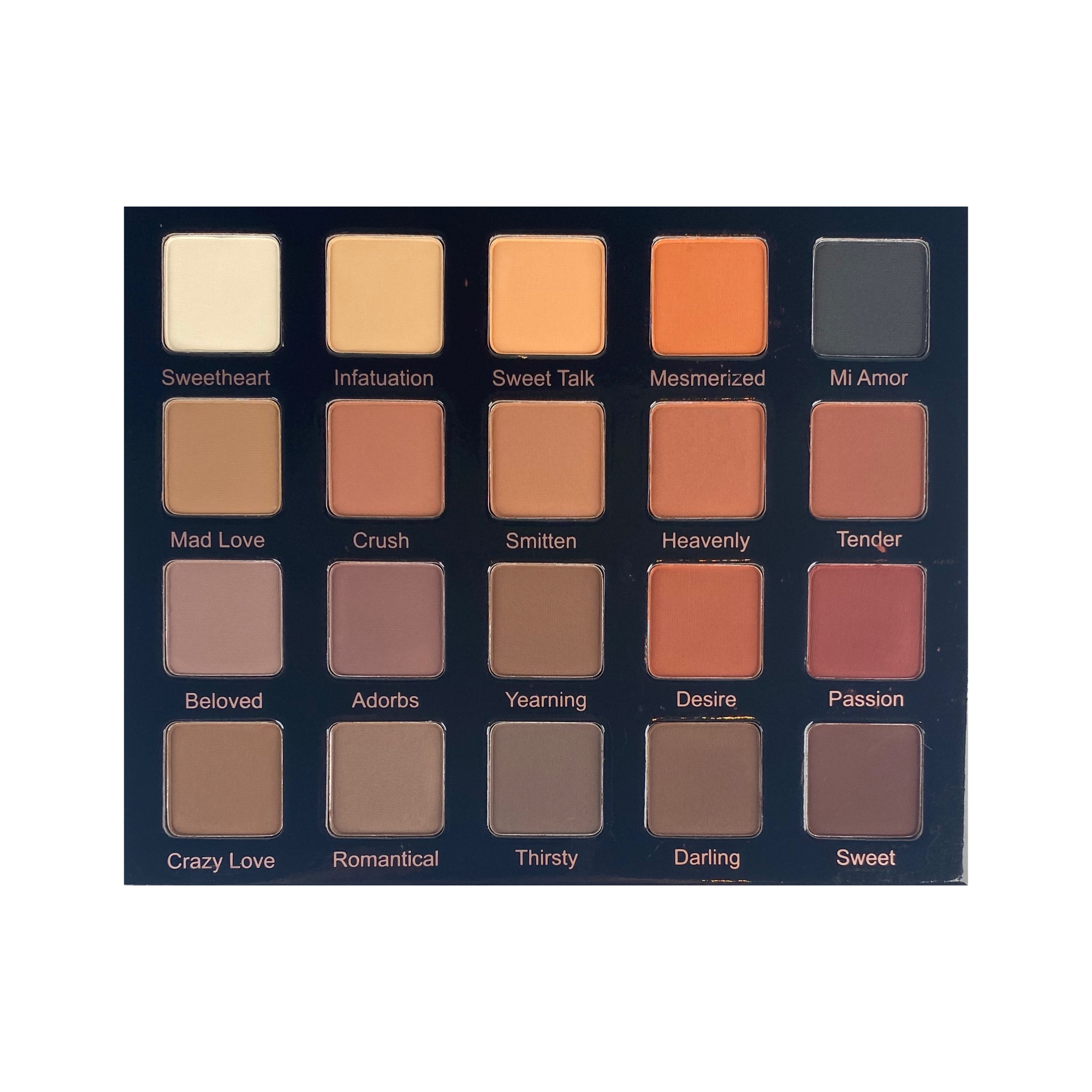 Violet Voss Matte About You Pro Eye Shadow Palette, eyeshadow palette, London Loves Beauty