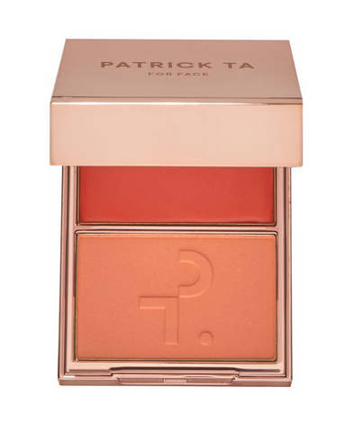 Patrick Ta Major Headlines - Double-Take Cream + Powder Blush Duo, 10g
