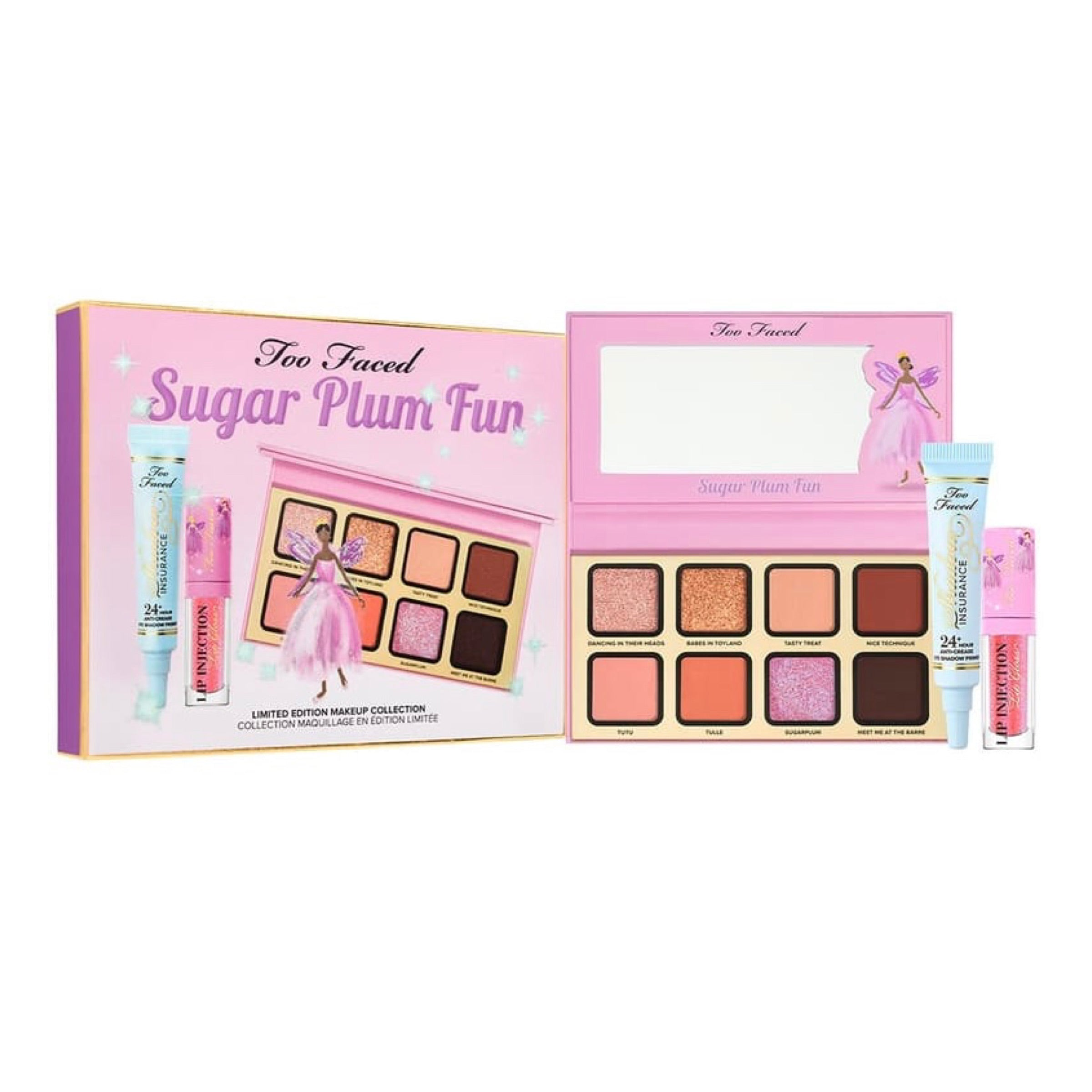 TOO FACED Sugar Plum Fun 3-Piece Makeup Set - Limited Edition