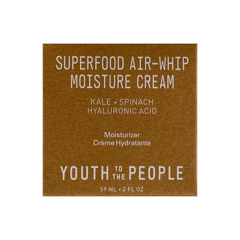 Youth To The People Superfood Air-Whip Hyaluronic Acid Moisture Cream, 59ml