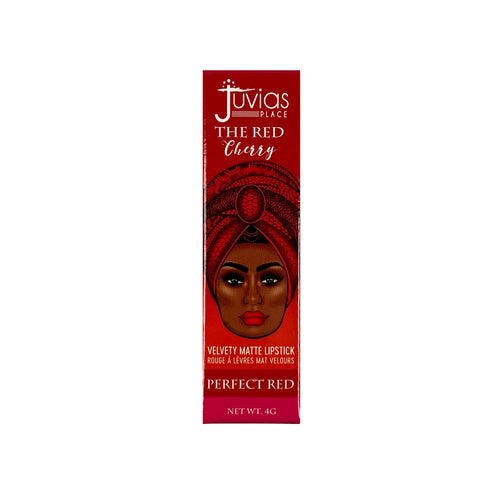 JUVIAS PLACE The Red Cherry Velvety Matte Lipstick: The Perfect Red 4g