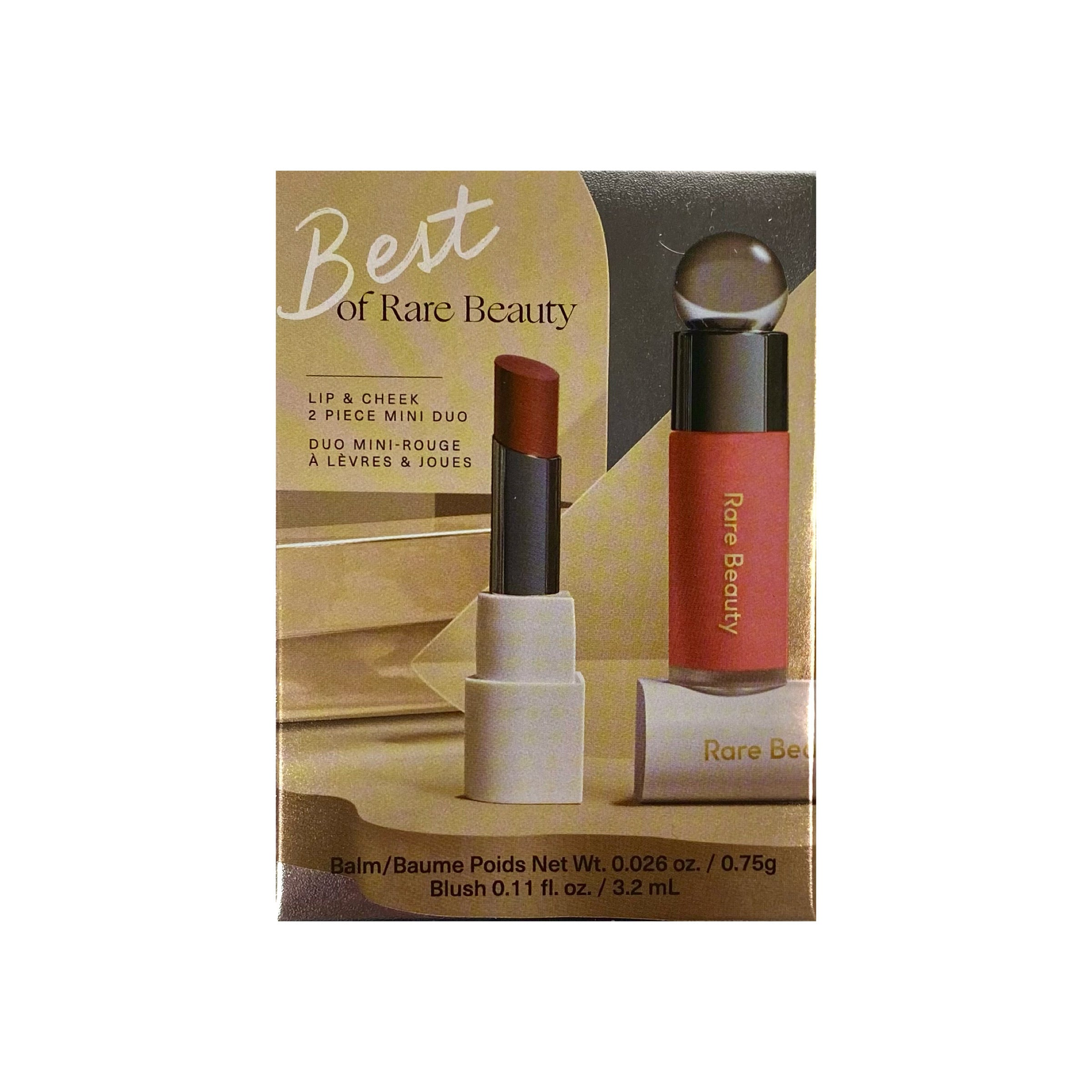 Rare Beauty by Selena Gomez Best of Rare Beauty Lip & Cheek Mini Duo