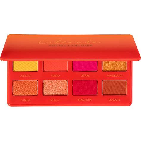 Artist Couture Caliente Hot + Spicy Summer Eye Palette, eyeshadow palette, London Loves Beauty