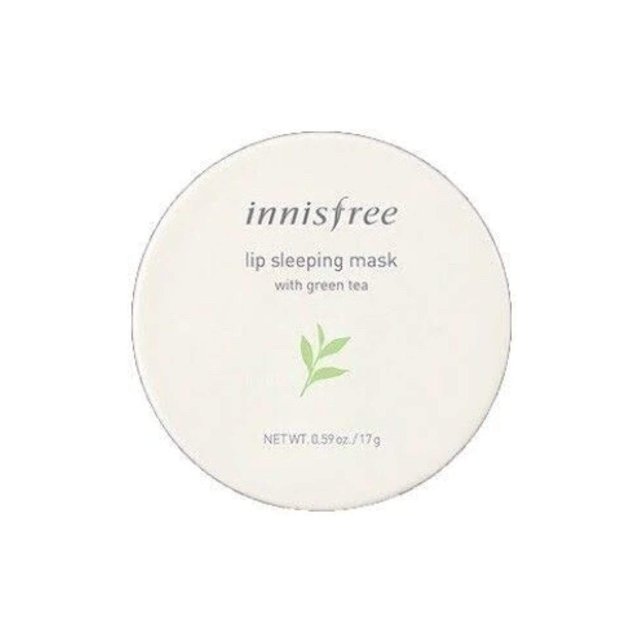 Innisfree Lip Treatment INNISFREE Green Tea Hydrating Lip Sleeping Mask, 0.59 oz/17 g