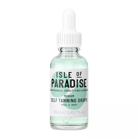 Isle of Paradise Self Tanning Drops Medium, 30ml, Tanning Drops, London Loves Beauty