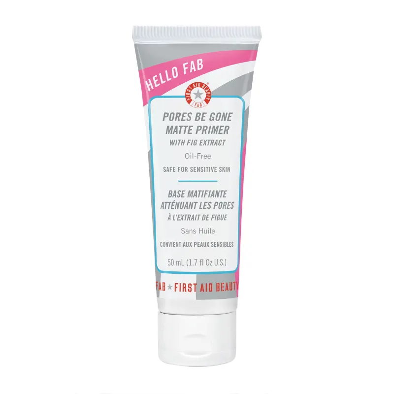 First Aid Beauty Hello FAB Pores Be Gone Mattifying Primer, 50ml, Primer, London Loves Beauty