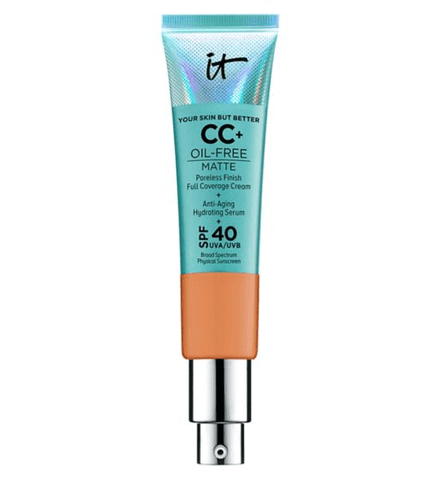 IT Cosmetics CC cream IT Cosmetics Your Skin But Better CC+ Oil-Free Matte with SPF 40 - Tan