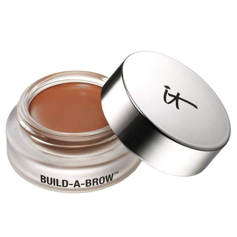 IT Cosmetics Eyebrows It Cosmetics Build A Brow Waterproof 5 in 1 Micro-Fiber Creme Stain: Auburn