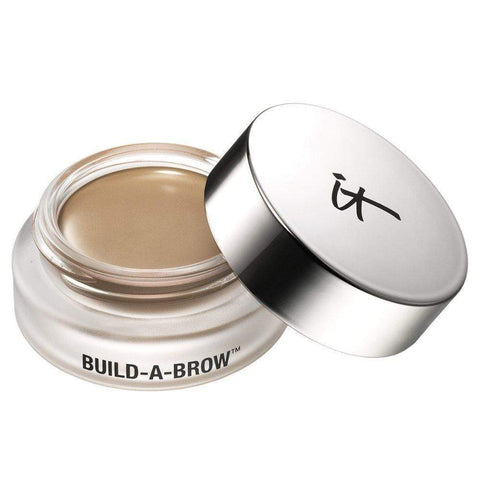 IT Cosmetics Eyebrows It Cosmetics Build A Brow Waterproof 5 in 1 Micro-Fiber Creme Stain: Blonde