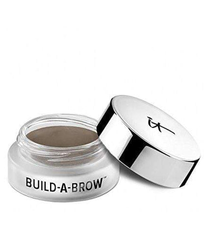IT Cosmetics Eyebrows It Cosmetics Build A Brow Waterproof 5 in 1 Micro-Fiber Creme Stain: Gray