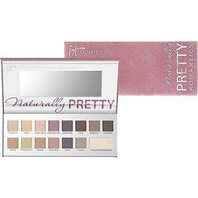 It Cosmetics Naturally Pretty Romantics Eyeshadow Palette, New Products, London Loves Beauty