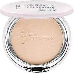 It Cosmetics Celebration Foundation Illumination - Fair, powder foundation, London Loves Beauty
