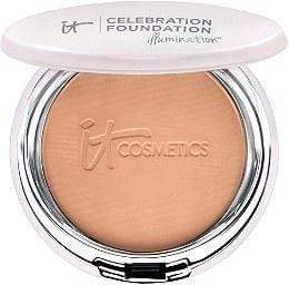 It Cosmetics Celebration Foundation Illumination - Rich, powder foundation, London Loves Beauty