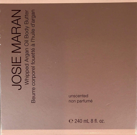 Josie Maran body cream Josie Maran Whipped Argan Oil Body Butter: Unscented (8oz) | 240ml)