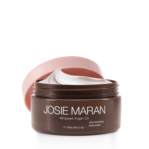 Josie Maran Whipped Argan Oil Body Butter -  Unscented, 240mL, body cream, London Loves Beauty