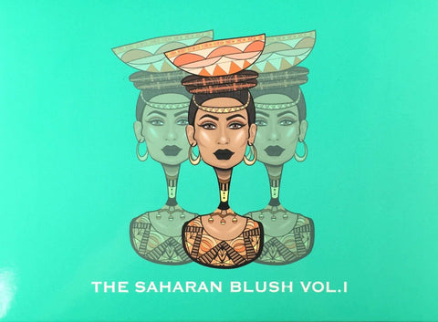 Juvia's Place The Saharan Blush Palette Vol. 1, Blush, London Loves Beauty