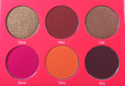 Juvias Place Blush Juvia's Place The Saharan Blush Palette Vol. 1