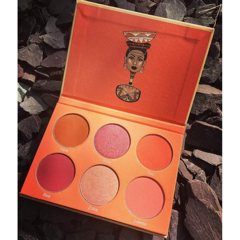 Juvia's Place The Saharan Blush Palette Vol. II