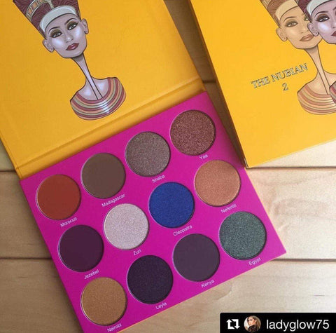 Juvias Place Eyeshadow Juvia's Place Nubian 2 Eye Shadow Palette