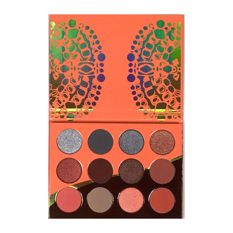 JUVIA'S PLACE Nubian 3 Coral Eye Shadow Palette, Eyeshadow, London Loves Beauty