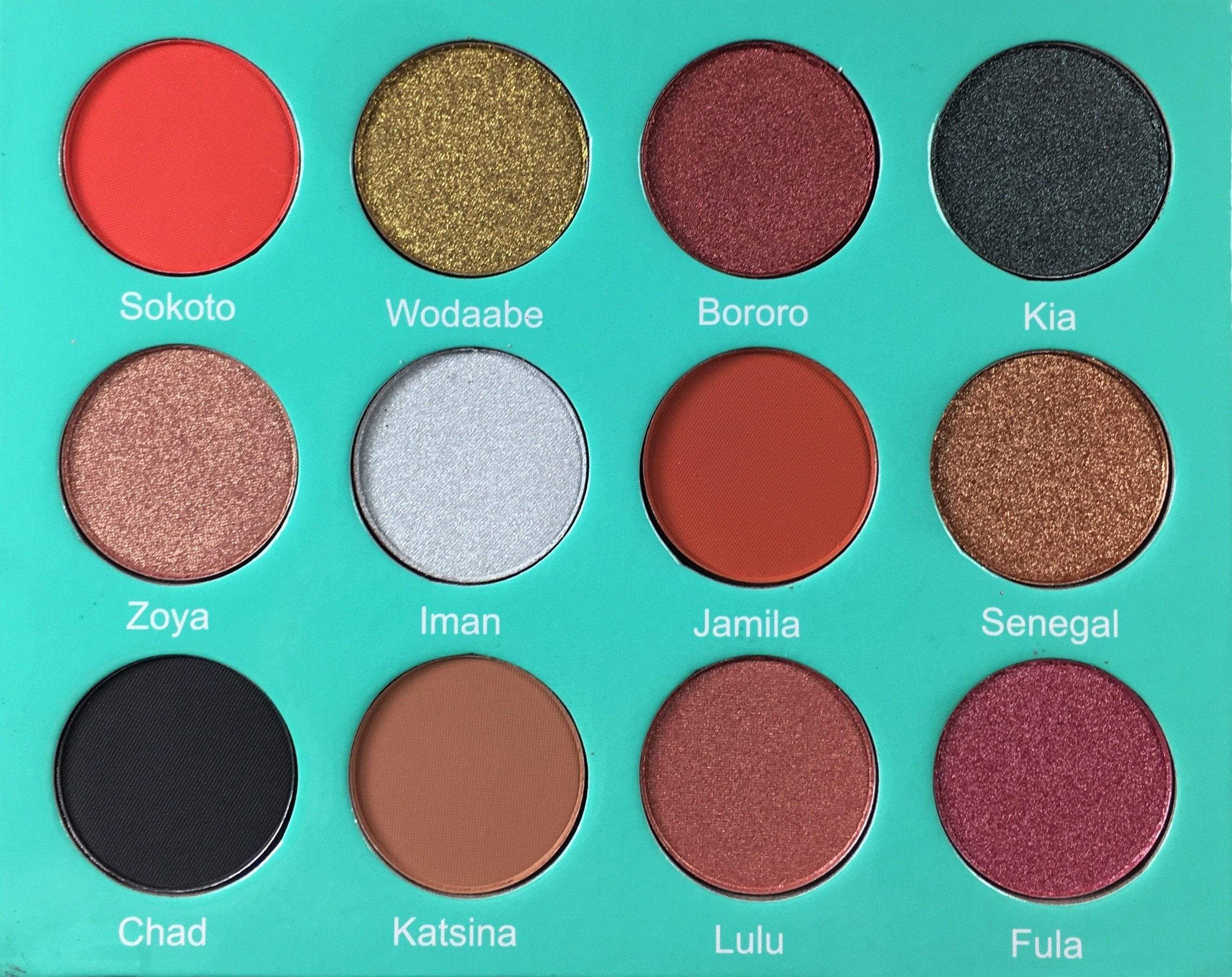 Juvia's Place Saharan Eyeshadow Palette, Eyeshadow, London Loves Beauty