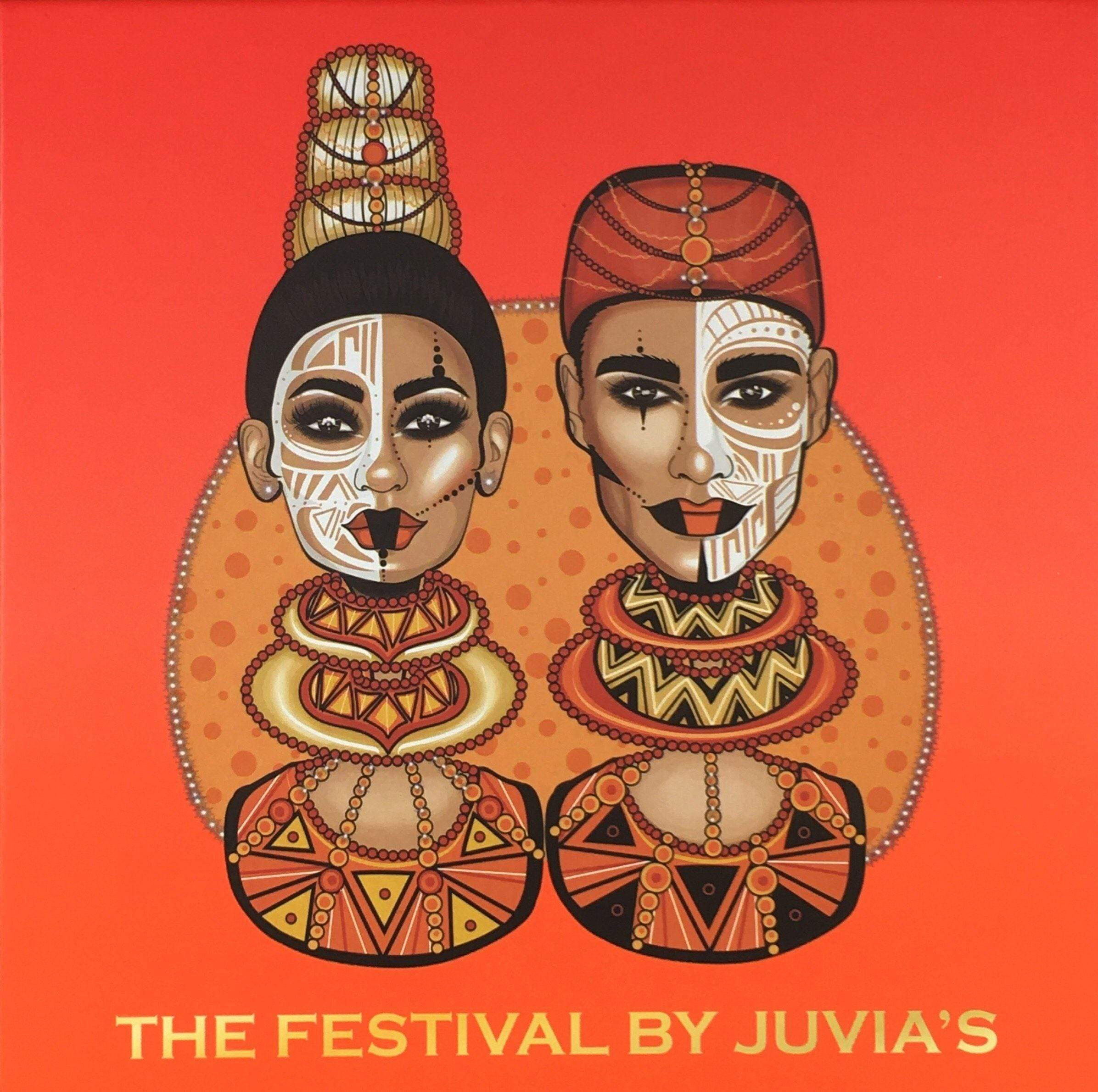 Juvias Place Eyeshadow Juvia's Place The Festival Eyeshadow Palette