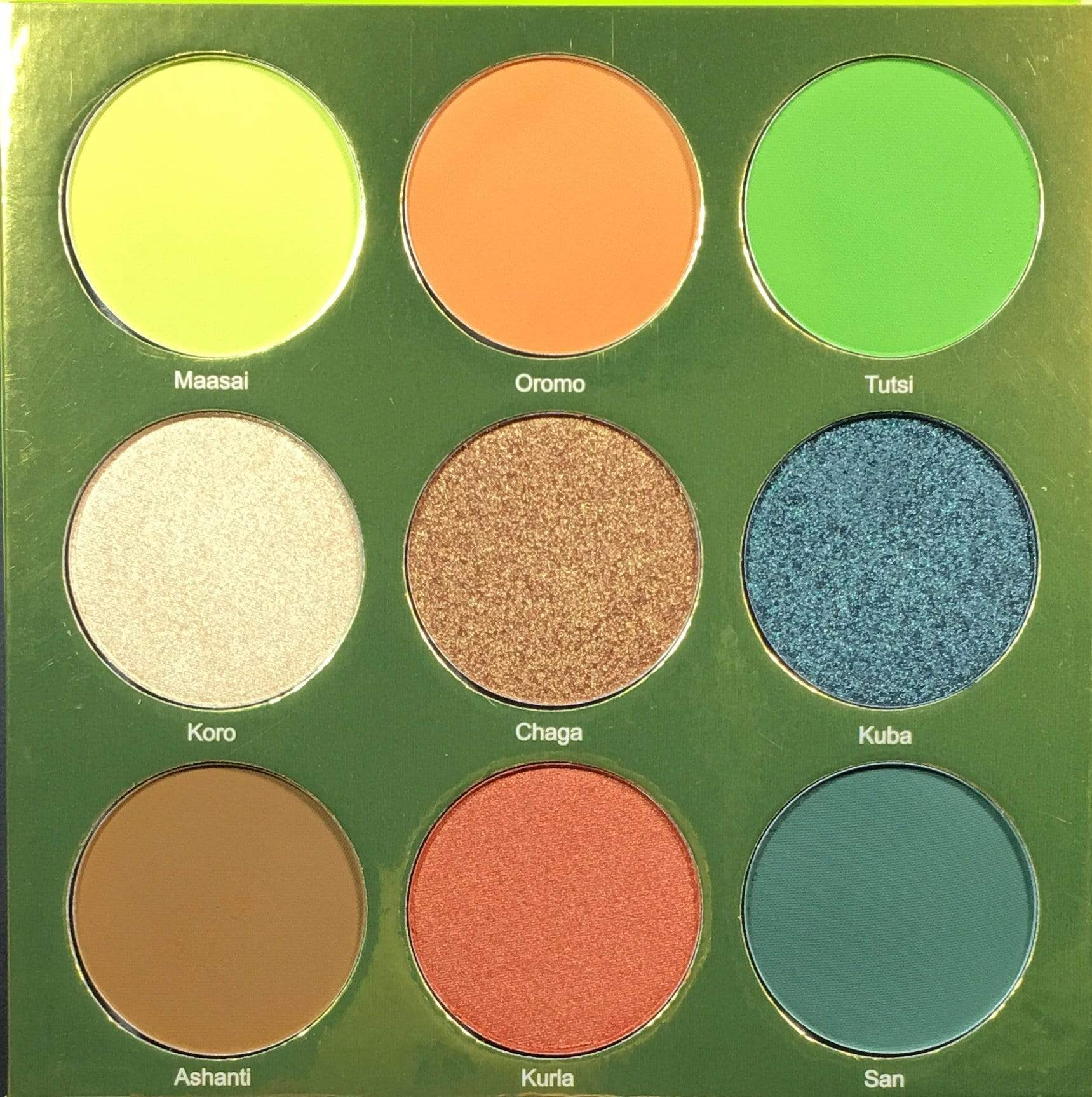 Juvias Place Eyeshadow Juvia's Place The Tribe Eyeshadow Palette