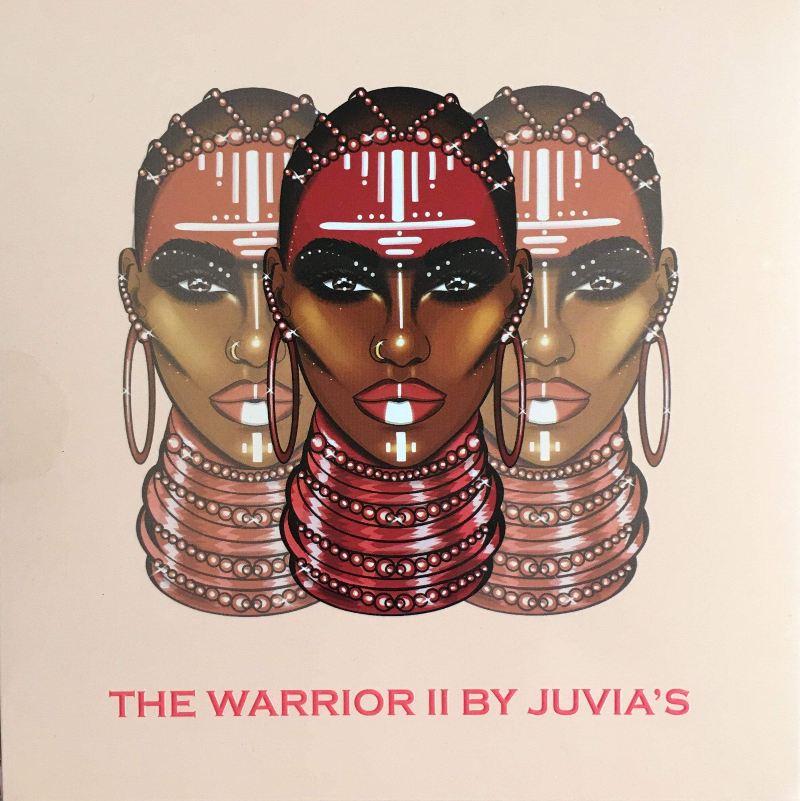 Juvias Place Eyeshadow Juvia's Place The Warrior II Eyeshadow Palette