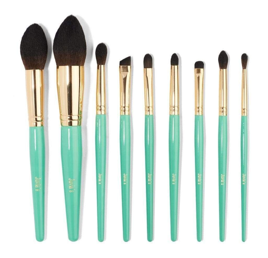 Juvias Place Makeup Brushes Juvia's Place Turquoise Blue 9pcs Brush Set