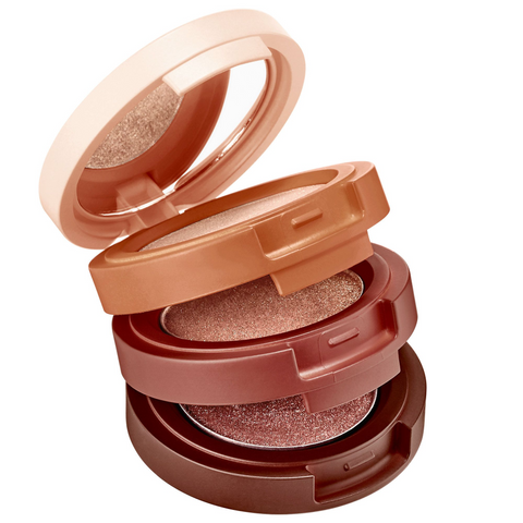 KAJA Beauty Bento Bouncy Shimmer Eyeshadow Trio - Toasted Caramel