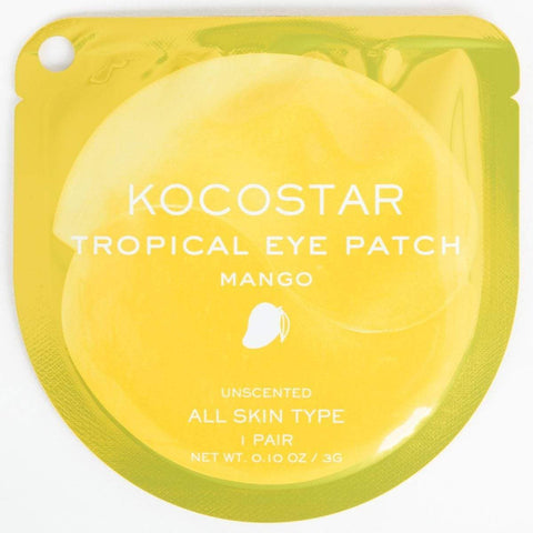 Kocostar Tropical Eye Patch Mango, eye mask, London Loves Beauty