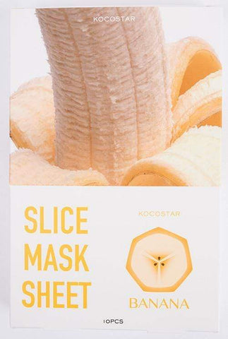 Kocostar Face Masks KOCOSTAR Banana Slice Mask
